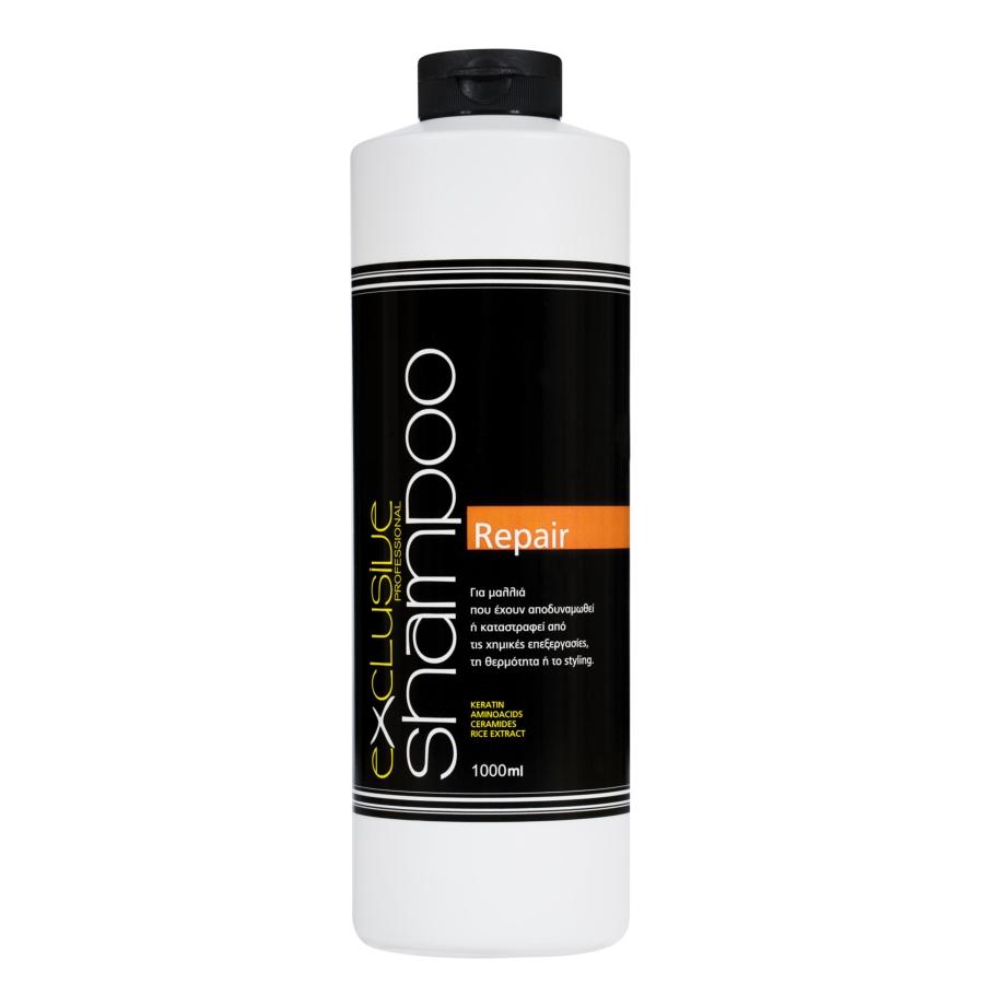 EXCLUSIVE shampoo REPAIR 1000 ml
