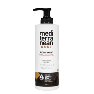 MEDITERRANEAN body milk VANILLA CARAMEL 350 ml
