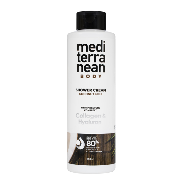 MEDITERRANEAN shower cream COCONUT MILK 750 ml