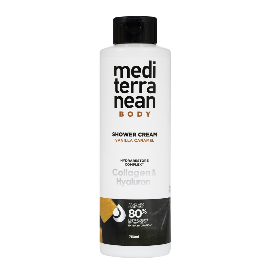 MEDITERRANEAN shower cream VANILLA CARAMEL 750 ml