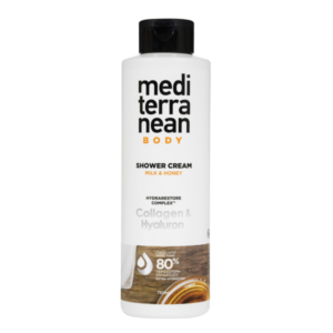MEDITERRANEAN shower cream MILK & HONEY 750 ml