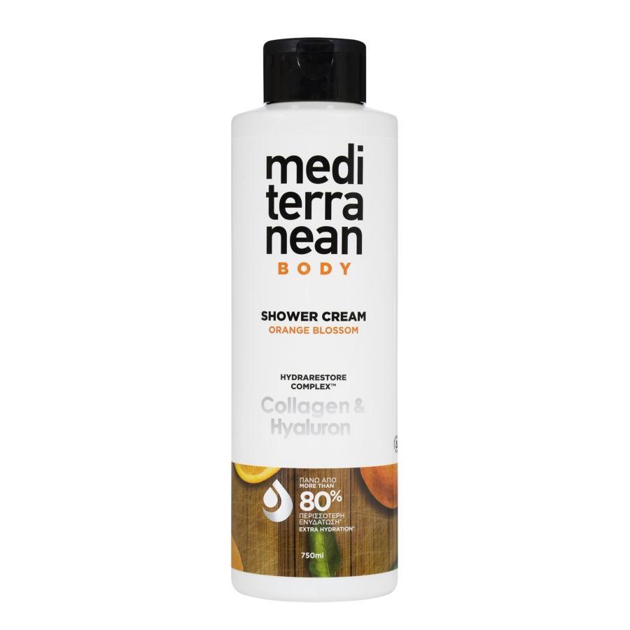 MEDITERRANEAN shower cream ORANGE BLOSSOM 750 ml
