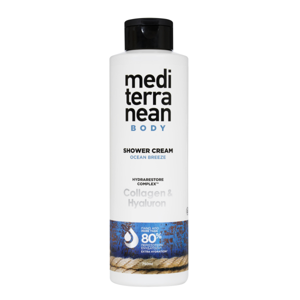MEDITERRANEAN shower cream OCEAN BREEZE 750 ml