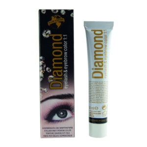 DIAMOND color eyelash & eyebrow deep black 30 ml