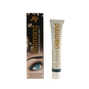 DIAMOND color eyelash & eyebrow blue black 30 ml