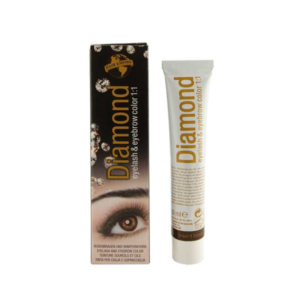 DIAMOND color eyelash & eyebrow brown 30 ml
