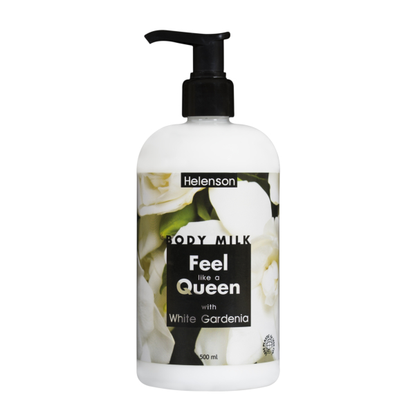 HELENSON body milk FEEL LIKE A QUEEN (GARDENIA) 500 ml