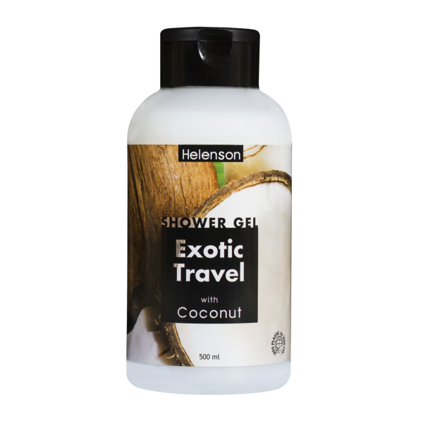 HELENSON shower gel EXOTIC TRAVEL (COCONUT) 500 ml